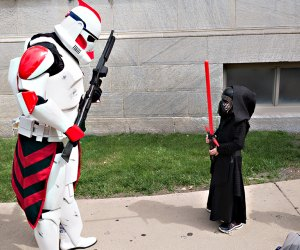 Celebrate all things Star Wars at Joliet Public Library's Star Wars Day. Photo courtesy of the library