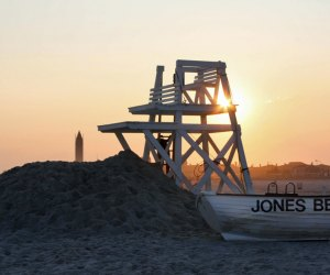 The sun hasn't set on beach season. Several beaches on Long Island and along the Jersey Shore are staying open through September. Photo courtesy of Discover Long Island