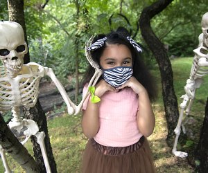 Masks are cool during Boo at the Zoo! Photo by Julie Larsen Maher