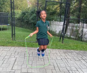 Jump rope songs can turn a kid workout into a game.