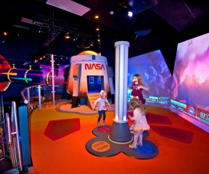 Explore the solar system and beyond. Photo courtesy of Kennedy Space Center