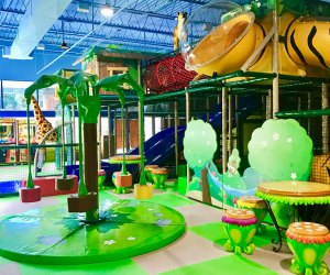 Jungle Jim & Jane puts a new spin on indoor playgrounds. Photo courtesy of Jungle Jim & Jane's