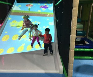 Jungle Jim & Jane is a high tech, indoor soft playground for children ages 0-8. Photo by Kaylynn Ebner