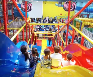 The new mega space, Kanga's Indoor Playspace, has activities and fun for all ages.