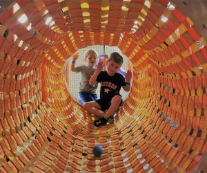 Kids can explore for hours at Kanga's Indoor Playcenter in Cypress and The Woodlands.