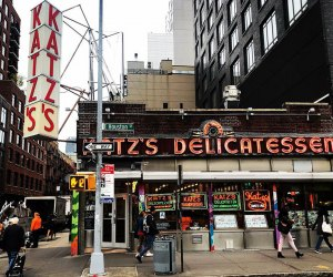 A trip to the LES isn't complete without a trip to Katz's Delicatessen. Photo courtesy of Katz's