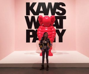 KAWS: What Party, at the Brooklyn Museum, features larger-than-life sculptures, furniture, pop art-inspired pieces, and more.
