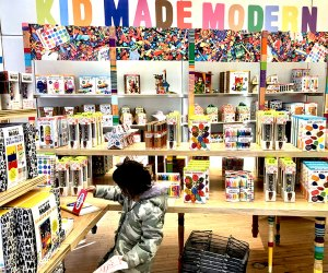 Check out a pop up store like the MoMA's Kid Made Modern. Photo by Janet Bloom