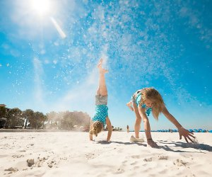 It's fun in the sun all year at Clearwater Beach. Photo courtesy of Visit Clearwater