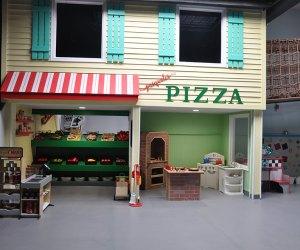 Kids Play World has an international-themed play space.