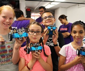 Make your own robot at Launch Math and Science Centers.