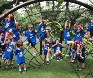 Preschoolers spend their days discovering at Kidventure Day Camps. Photo courtesy of Kidventure