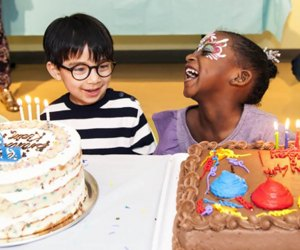 Kidville offers tons of birthday party themes and activities.
