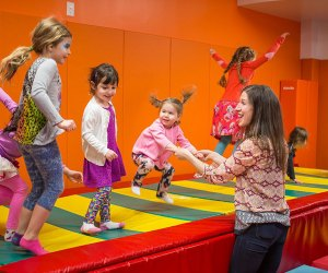 Kidville Montclair offers action-packed parties for preschoolers and toddlers.