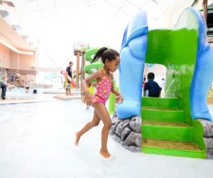 Burn some energy with a swim at one of Philly's indoor pools. Photo from the Camden Kroc Center