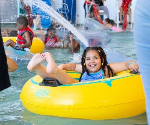 Enjoy a heated lazy river—right in the city! Photo courtesy of Kroc Salvation Army Center