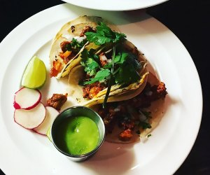 Savor some delicious tacos at La Avenida