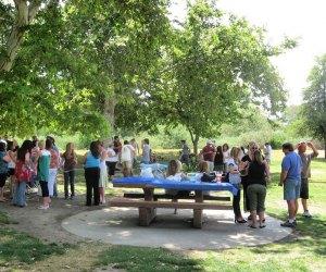 Birthday party at Lake Balboa