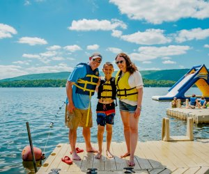 Traditional summer camps are offering family cabin rentals and even family camp in 2020.Photo courtesy of Camp Danbee