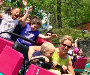 Kiddie coaster at the Land of Make Believe
