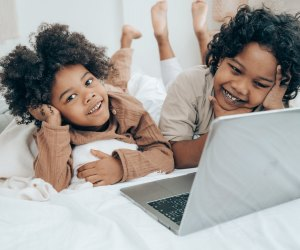 With a watch party, kids can see movies with friends again! Photo by Ketut Subiyanto/Pexels