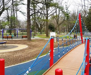 The Let All The Children Play Playground at Eisenhower Park is one of 67 Nassau County playgrounds that have reopened.  Photo courtesy of Let All The Children Play