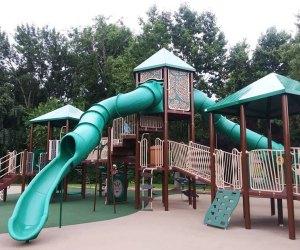 Enjoy the climbing structures Laurel Acres Park. Photo courtesy of Mt. Laurel Township