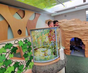 """The """"tree fort"""" is a gathering place for curious kids."""