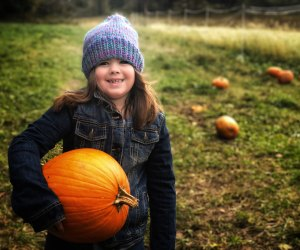 This holiday weekend offers three chances for kids to get outside in the crisp fall air. Photo courtesy of Ally Noel