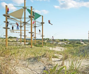 Imagine a thrill-seeker's paradise in the heart of Jones Beach.