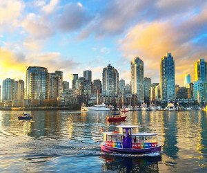 Ride the Aquabus around the coastal Canadian city's harbor. Photo courtesy Aquabus Vancouver