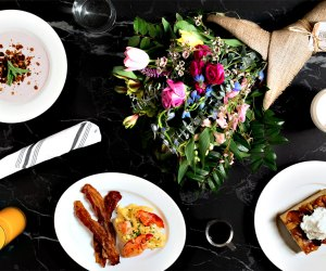 Get a gorgeous Mother's Day brunch spread delivered from Beatrix.