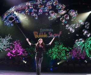 The Gazillion Bubble Show will amaze the whole family. Photo by  Kyle Froman