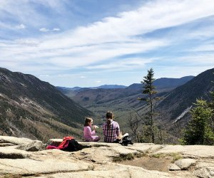 Hiking is just one of many things to do in the White Mountains region of New Hampshire, but it sure delivers great views!