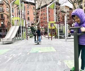 Check out this new Nolita playground, then grab some good eats in the neighborhood.