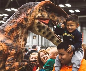 Jurassic Quest is coming to Navy Pier. Photo courtesy of Jurassic Quest