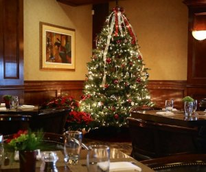 Crystal Tavern serves a prix-fixe Christmas meal in an elegant holiday atmosphere.