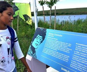 Shirley Chisholm State Park is named in honor of the first African American Congresswoman, as well as the first woman and African American to run for President.