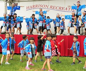 The 6th Annual Japan Cultural Festival takes place in May in Harrison's Ma Riis Park. Photo courtesy of the festival