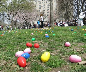 Think 'N' Fun's annual Easter egg hunt in Riverside Park is one of the best in NYC! Photo by Lee Uehara