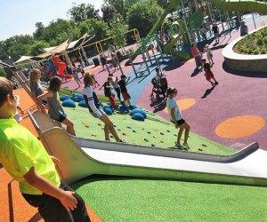 Verona Park Playground is massive