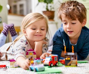 Turn your Lego sets into crafts, games, and more! Photo courtesy of Lego