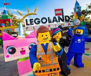 Legoland Florida is filled with rides, fun characters, and even a water park.