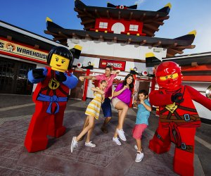 Improve your Spinjitsu skils at Lego Ninjago World. Photo courtesy of Legoland New York