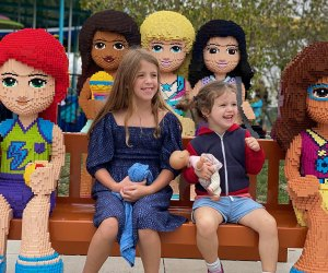 Friends young and old enjoy the attractions and Legoland New York, the first major theme park in the Northeast in 40 years.