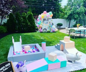 Let Them Play brings soft foam setups and ball pits ideal for the under 5 age group..