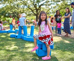 Enjoy summer block party fun at Levy Park. Photo courtesy the park