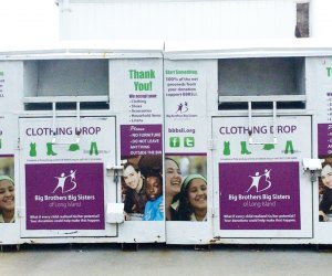Find a Big Brothers Big Sisters donation bin throughout Long Island