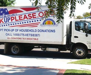 The Vietnam Vets will pickup your unwanted items or donations