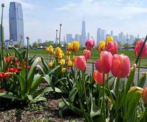 Enjoy the beauty and views at Liberty State Park, which offers a lovely destination in all seasons. Photo courtesy of the Park